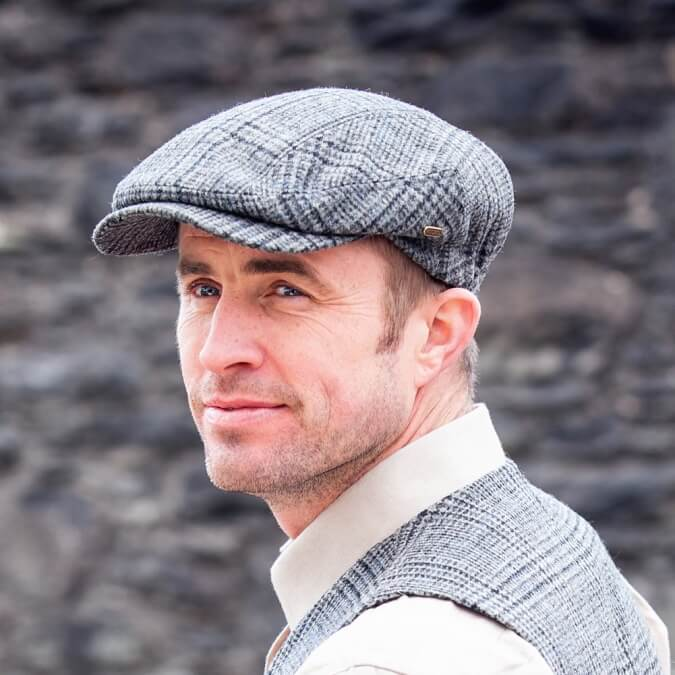 91c206eab9c80 Boardwalk Empire Style - Traditional Flat Cap - Irish Caps USA
