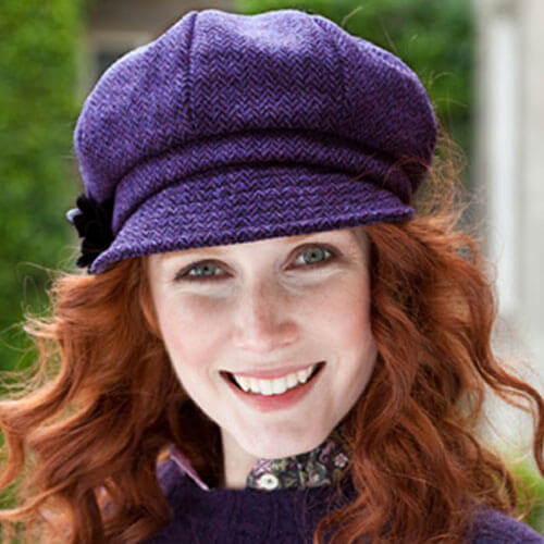 7cec96c4b6c85 Ladies Irish Hat Purple - Irish Caps USA