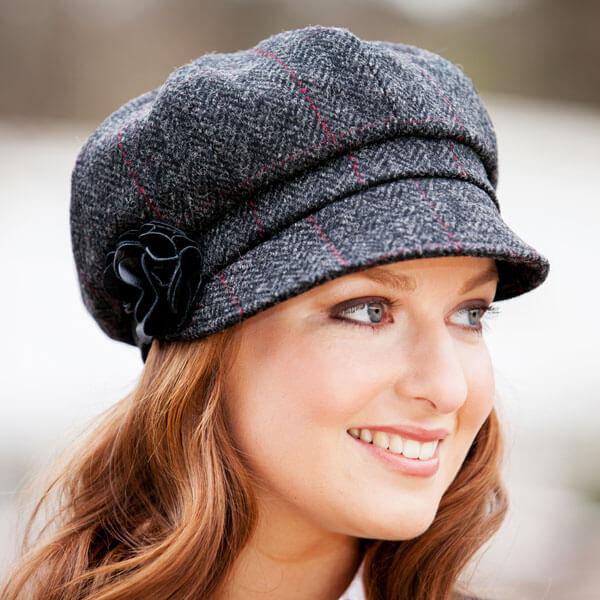 5b07796883337 Ladies Newsboy Cap - Irish Caps USA