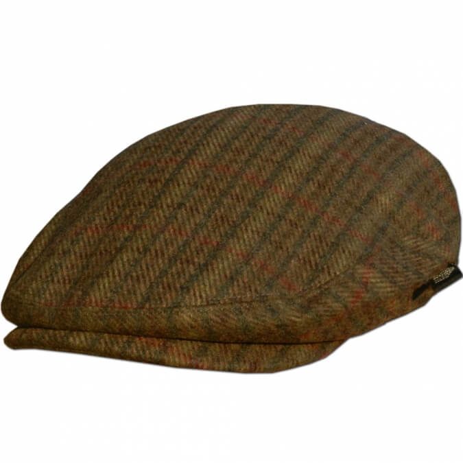 0a0999314b434 Plaid Irish Flat Cap - Irish Caps USA