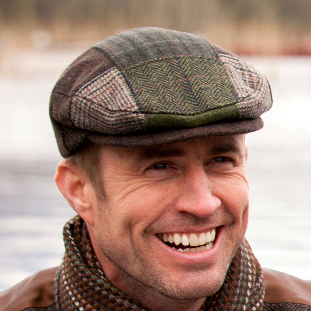 Flat Cap Shandon Black Irish Caps Usa