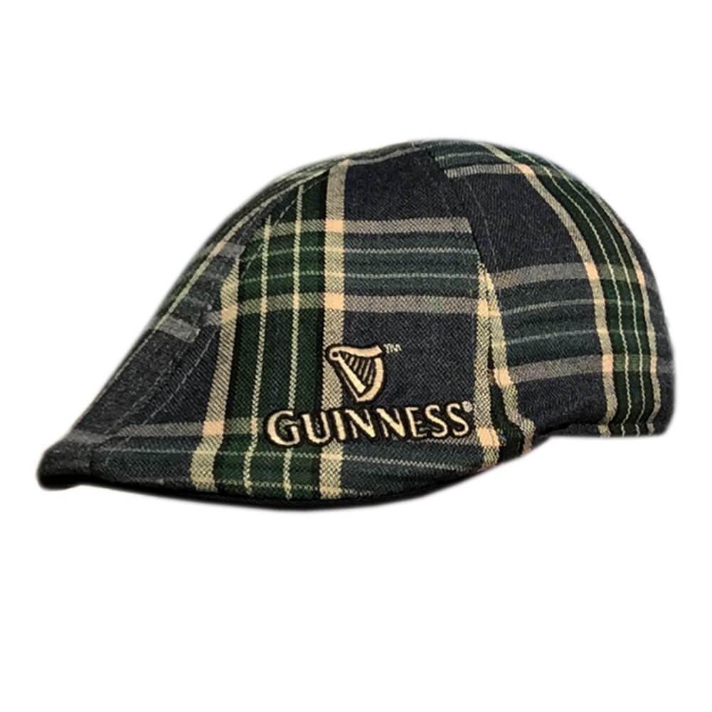 b14ec47710baa Guinness Hat - Dublin Plaid - Official Merchandise - Irish Caps USA